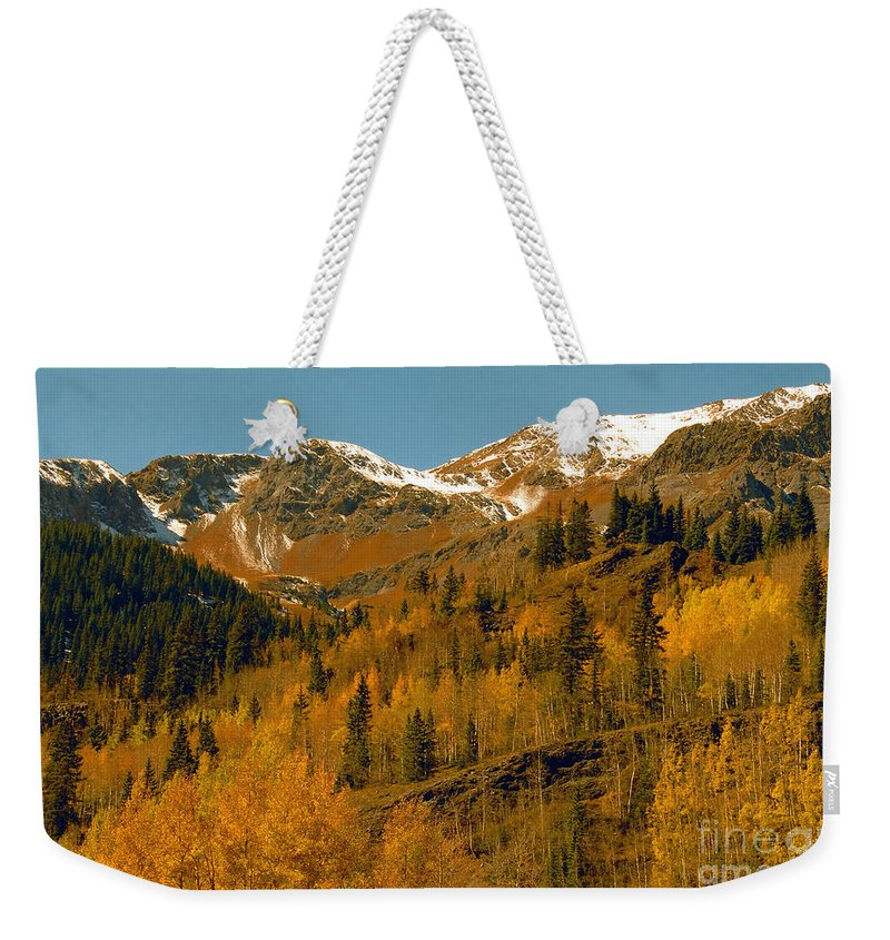 Colorado Weekender Tote Bag featuring the photograph Colorado by David Lee Thompson