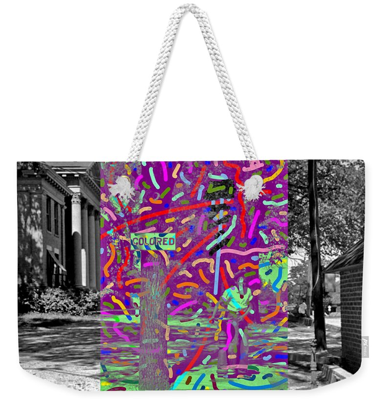 Colored Weekender Tote Bag featuring the digital art Colored by Joe Roache