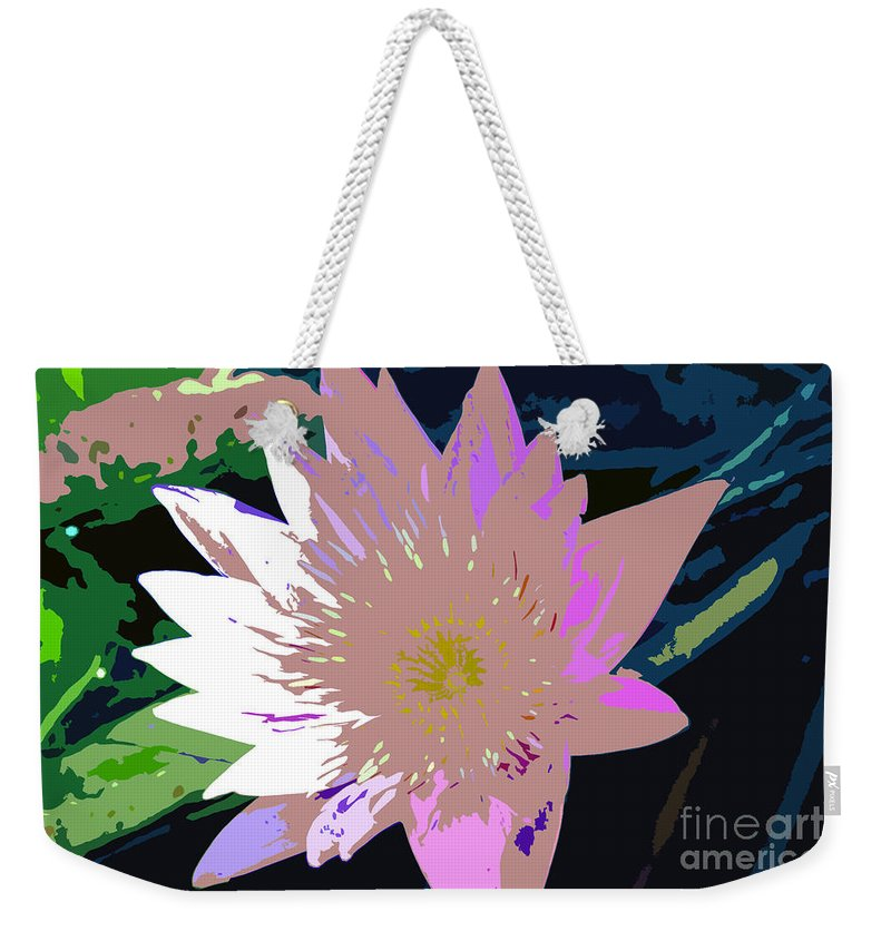 Flower Weekender Tote Bag featuring the photograph Colorful Beauty Work Number 13 by David Lee Thompson