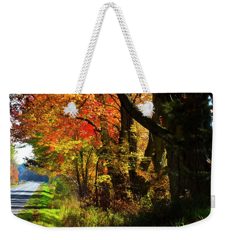 Photography Weekender Tote Bag featuring the photograph Colorful Maples by Frederic A Reinecke