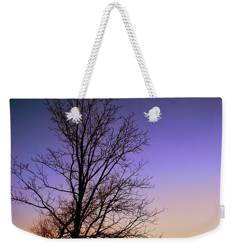 Sky Weekender Tote Bag featuring the photograph Colorscape by Lori Tambakis