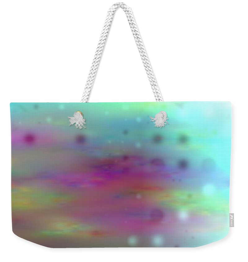 Art Digital Art Weekender Tote Bag featuring the digital art Colour21mlv - Impressions by Alex Porter