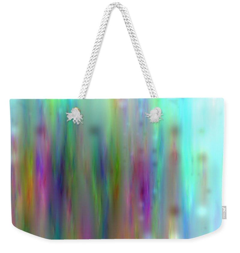 Art Digital Art Weekender Tote Bag featuring the digital art Colour3mlv - Impression 3 by Alex Porter