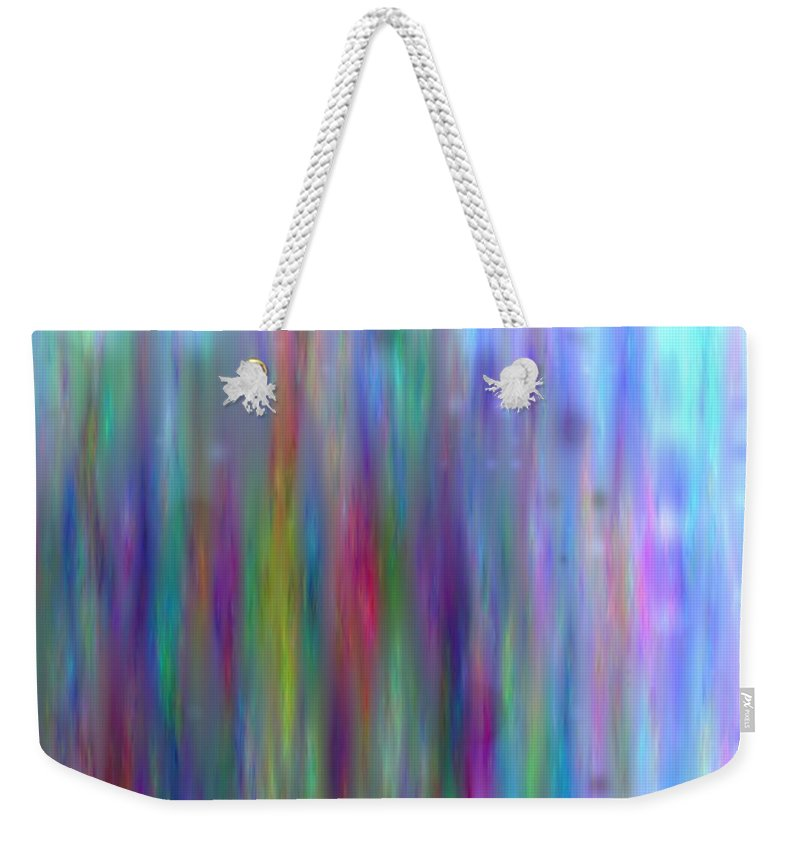 Art Digital Art Weekender Tote Bag featuring the digital art Colour5mlv by Alex Porter