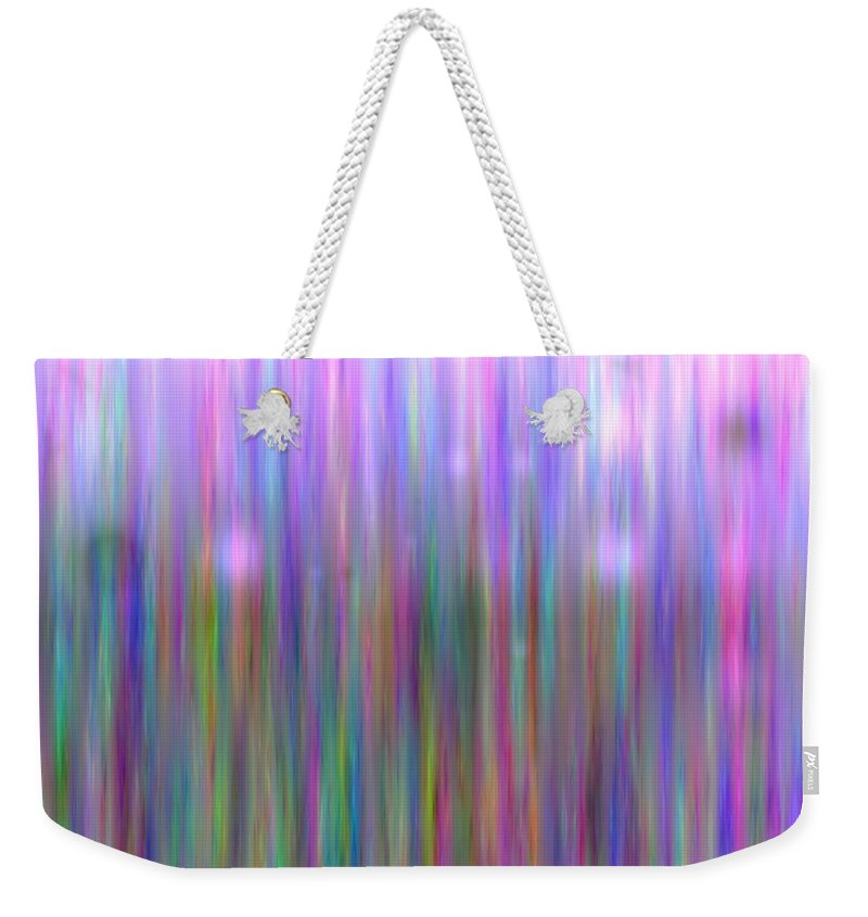 Art Digital Art Weekender Tote Bag featuring the digital art Colour7mlv - Impressions by Alex Porter