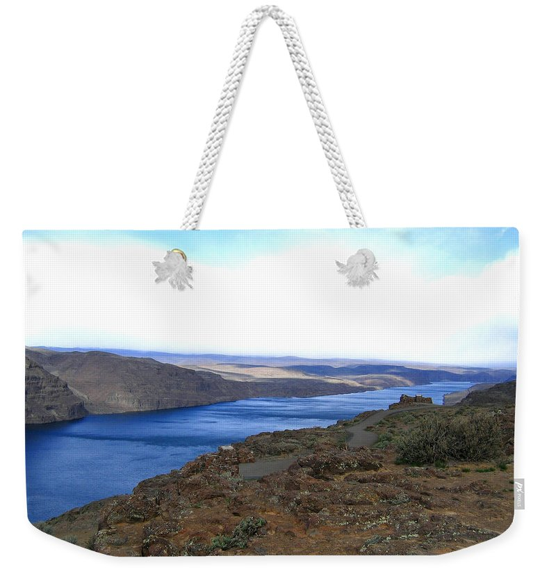 Columbia River Weekender Tote Bag featuring the photograph Columbia River 2 by Will Borden
