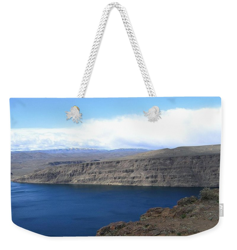 Columbia River Weekender Tote Bag featuring the photograph Columbia River by Will Borden