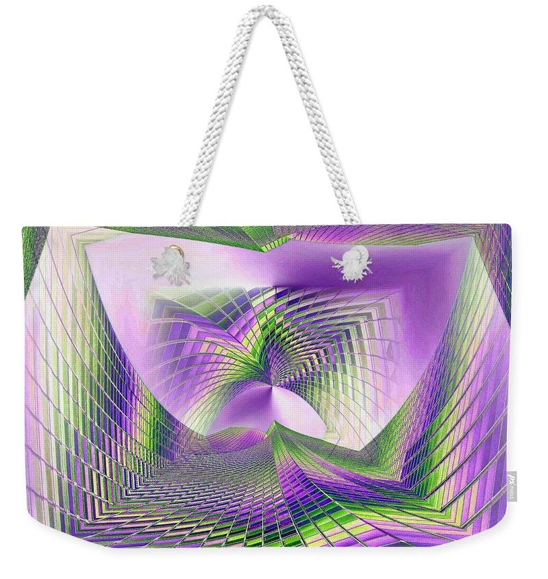 Seattle Weekender Tote Bag featuring the photograph Columbia Tower Vortex 3 by Tim Allen
