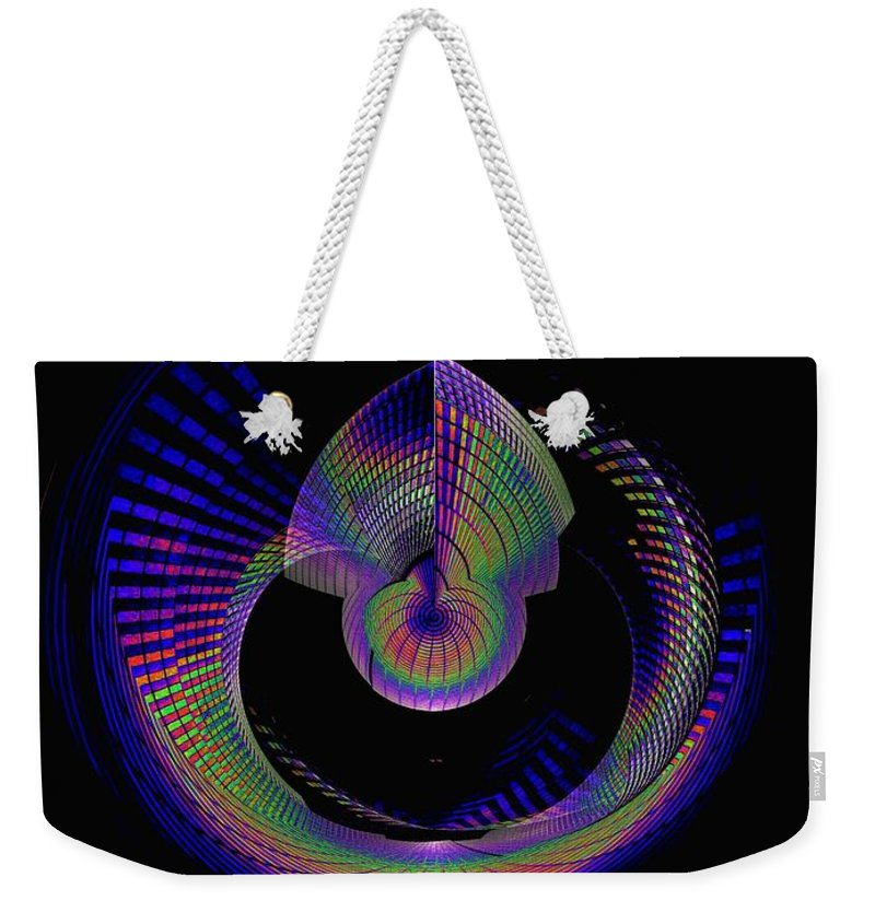 Seattle Weekender Tote Bag featuring the photograph Columbia Tower Vortex 4 by Tim Allen