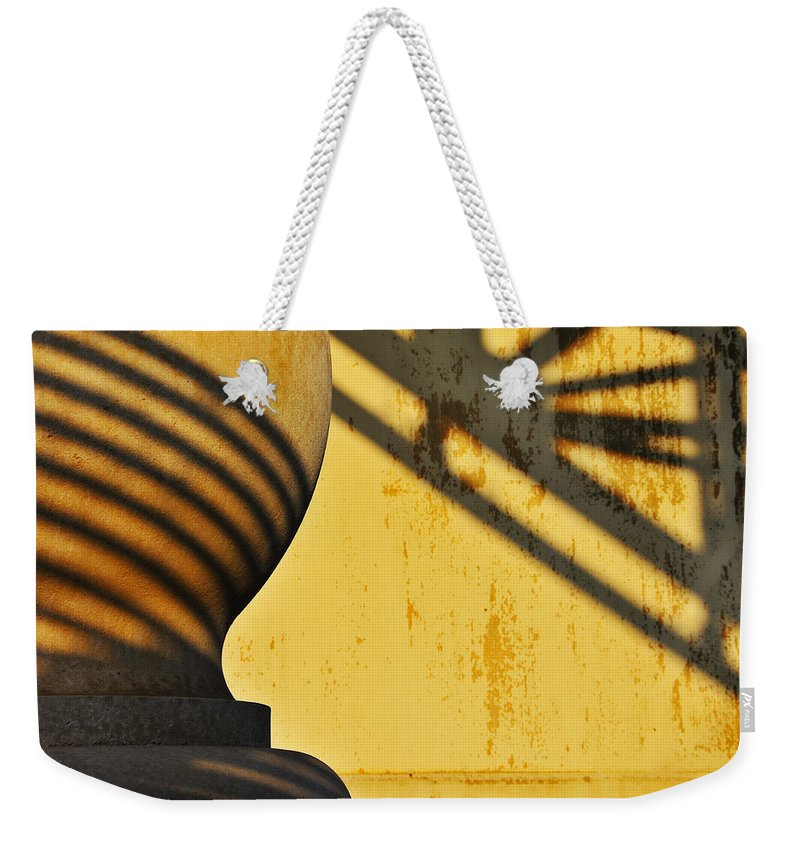 Architecture Weekender Tote Bag featuring the photograph Comb Over by Skip Hunt