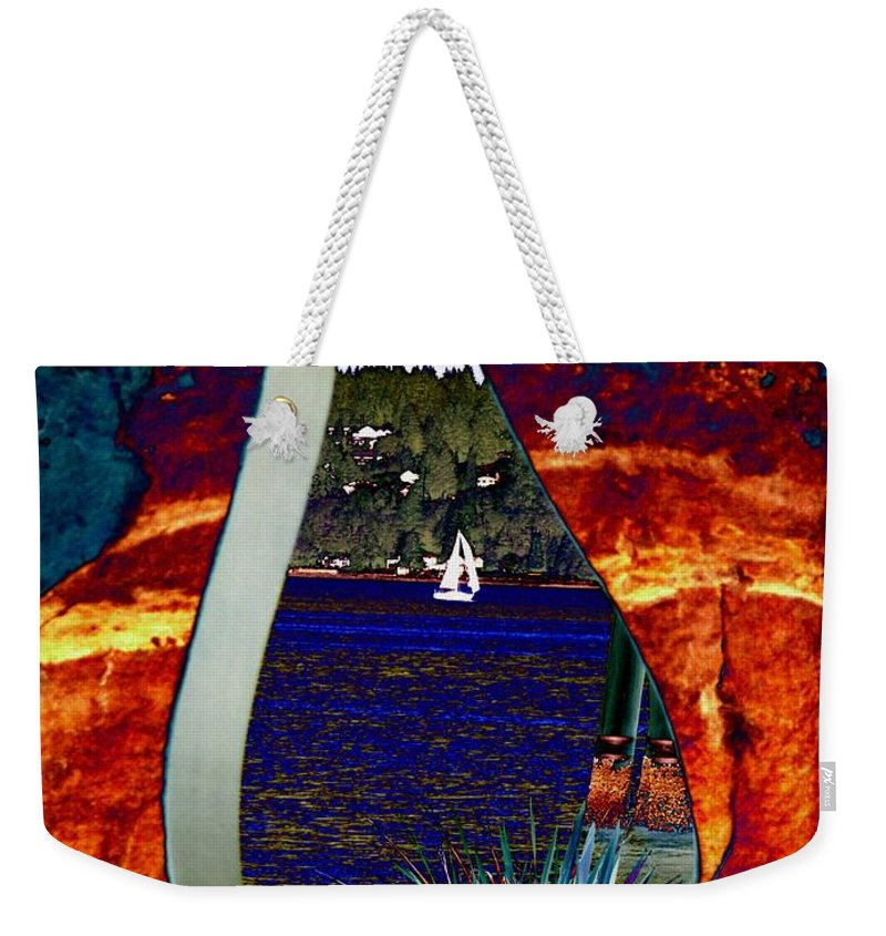 Bremerton Weekender Tote Bag featuring the photograph Come Sail Away by Tim Allen