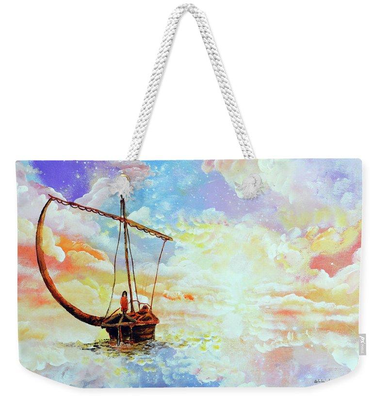 Come Sail Away Weekender Tote Bags