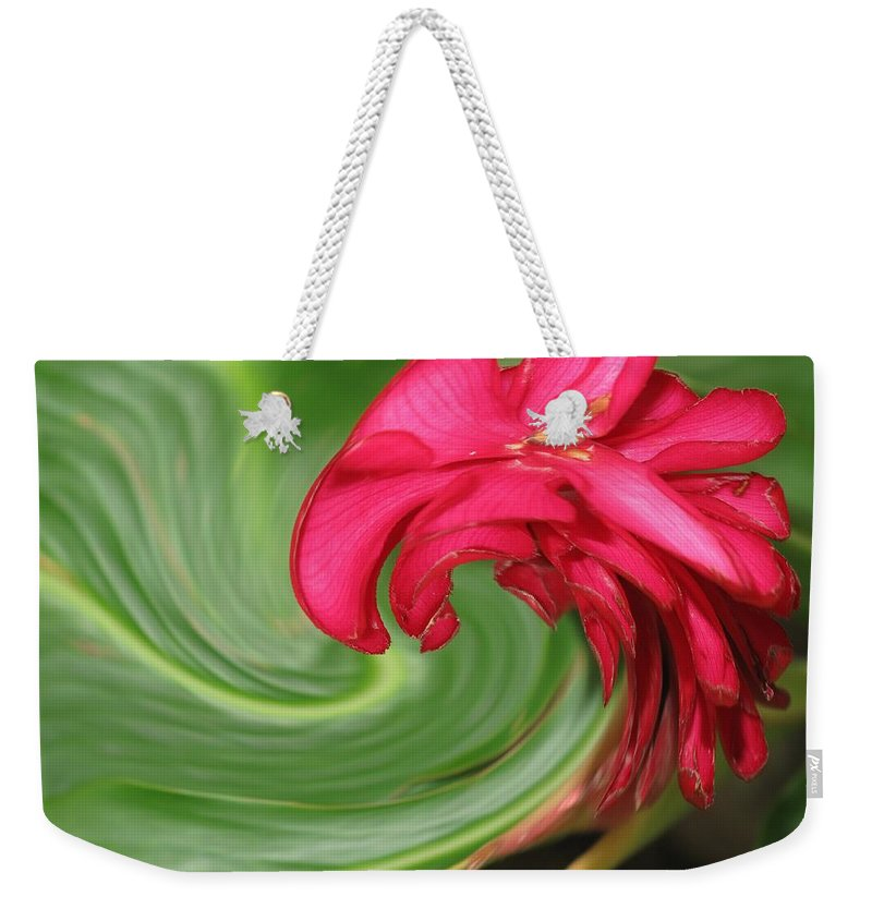 Flower Weekender Tote Bag featuring the photograph Come To Me by Ian MacDonald