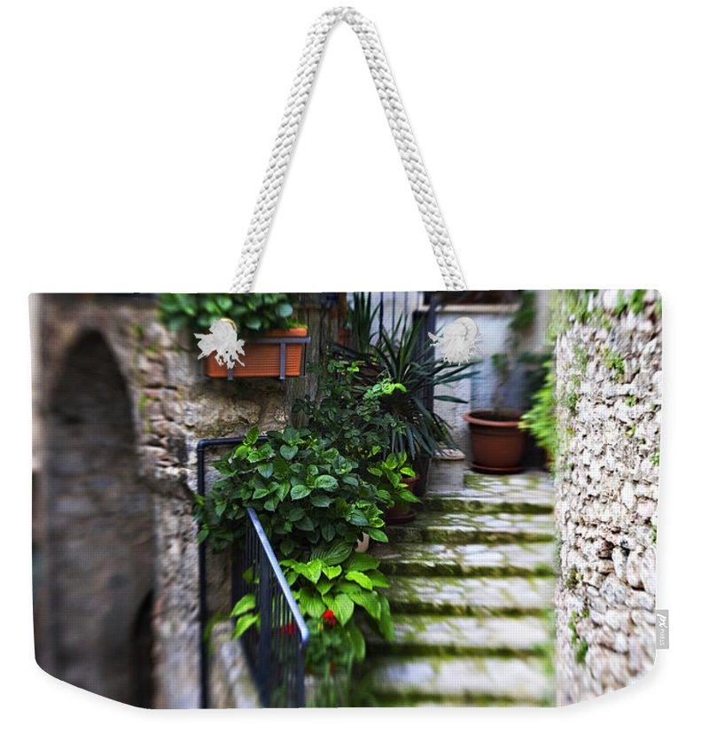 Home Weekender Tote Bag featuring the photograph Coming Home by Marilyn Hunt