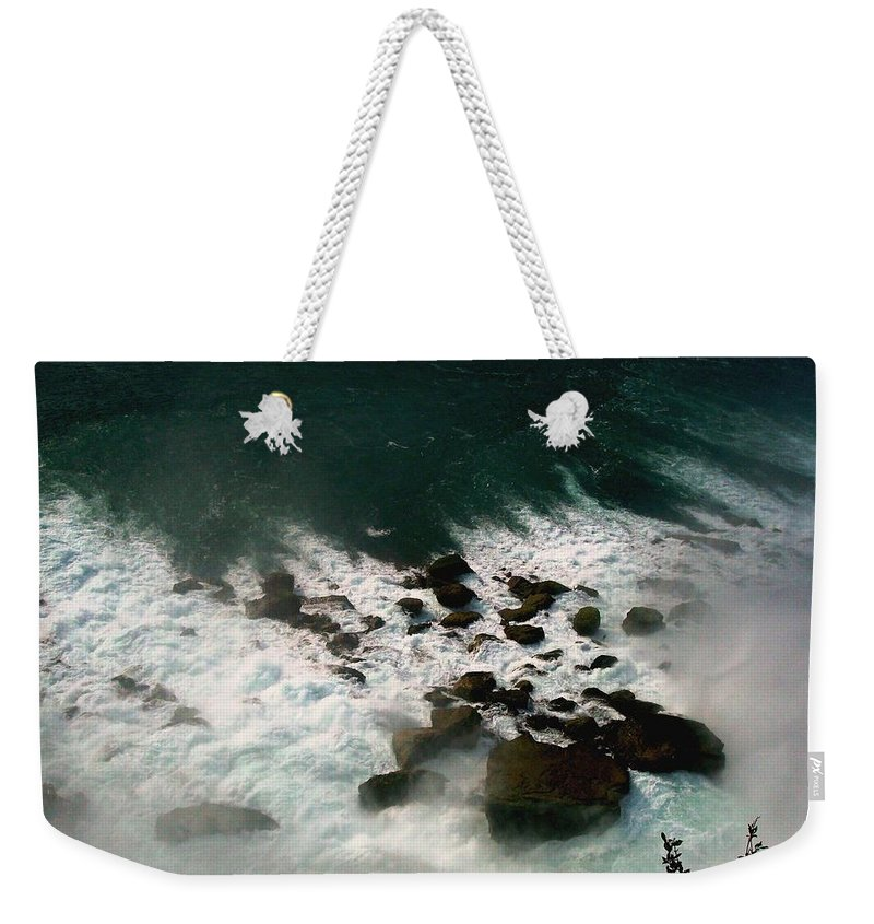 Landscape Weekender Tote Bag featuring the photograph Coming Out by Harsh Malik