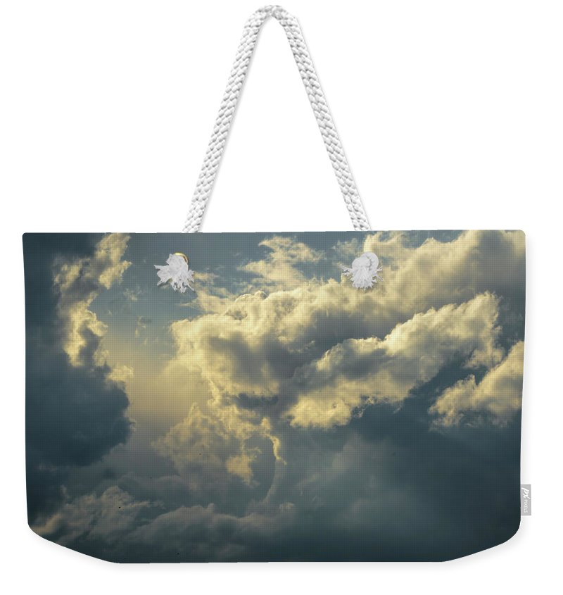 North Weekender Tote Bag featuring the photograph Coming Soon by Albert Seger