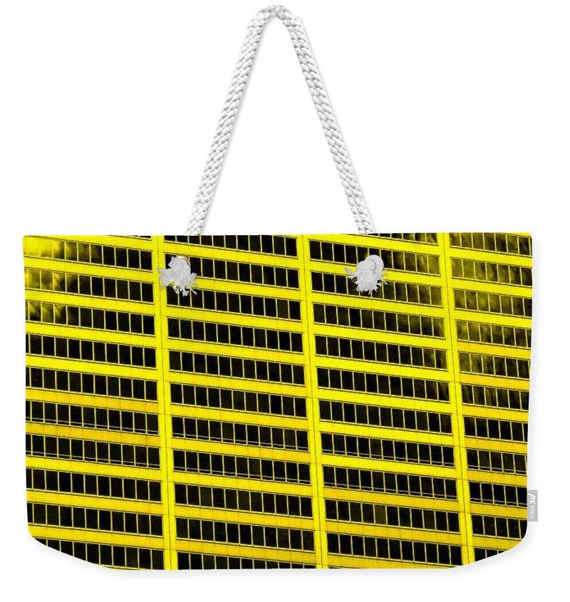 Office Weekender Tote Bag featuring the photograph Commerce by Ian MacDonald