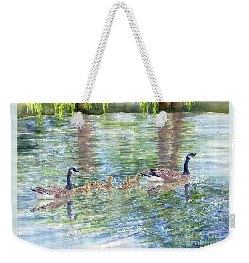 Gosling Paintings Weekender Tote Bags