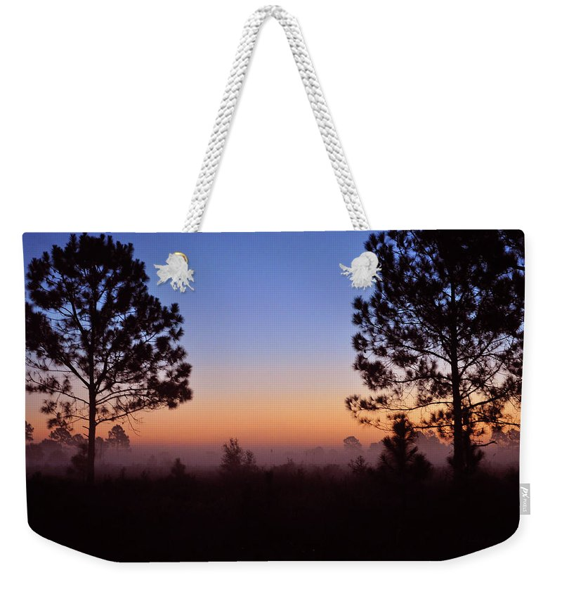 John Knapko Weekender Tote Bag featuring the photograph Companions by John Knapko