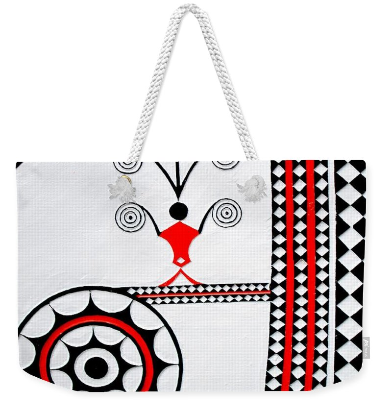 Ponso No Tao Weekender Tote Bag featuring the photograph Company And Guide by MingTa Li