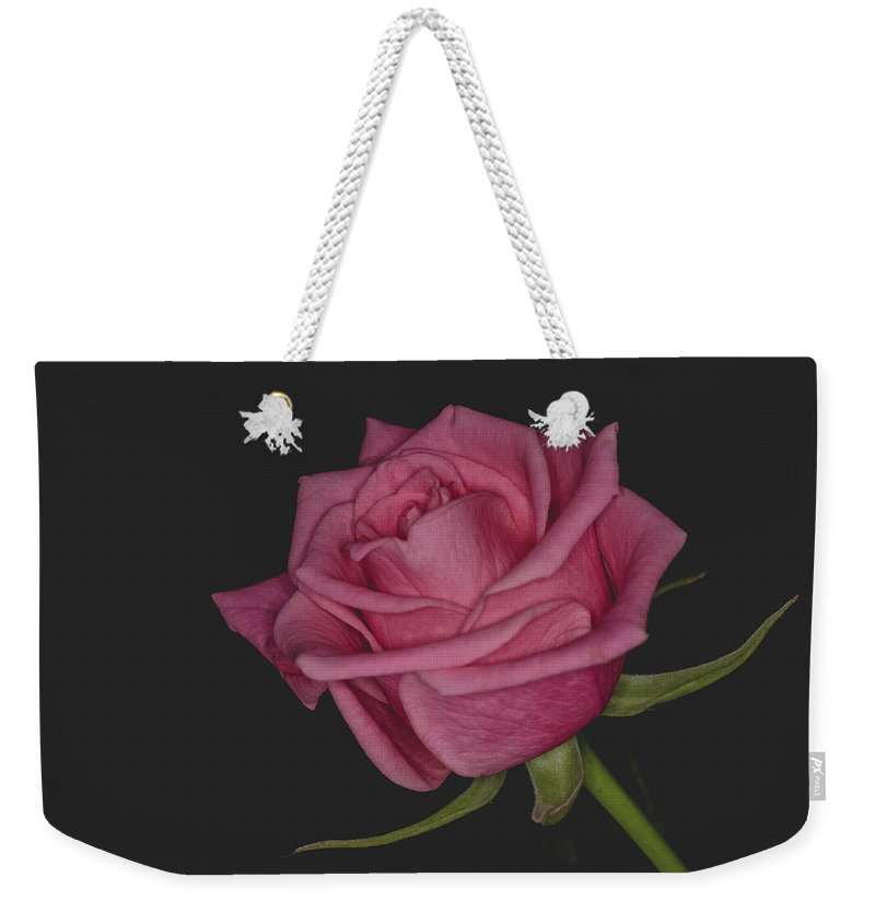 Closeup Weekender Tote Bag featuring the photograph Compassion by G Ben