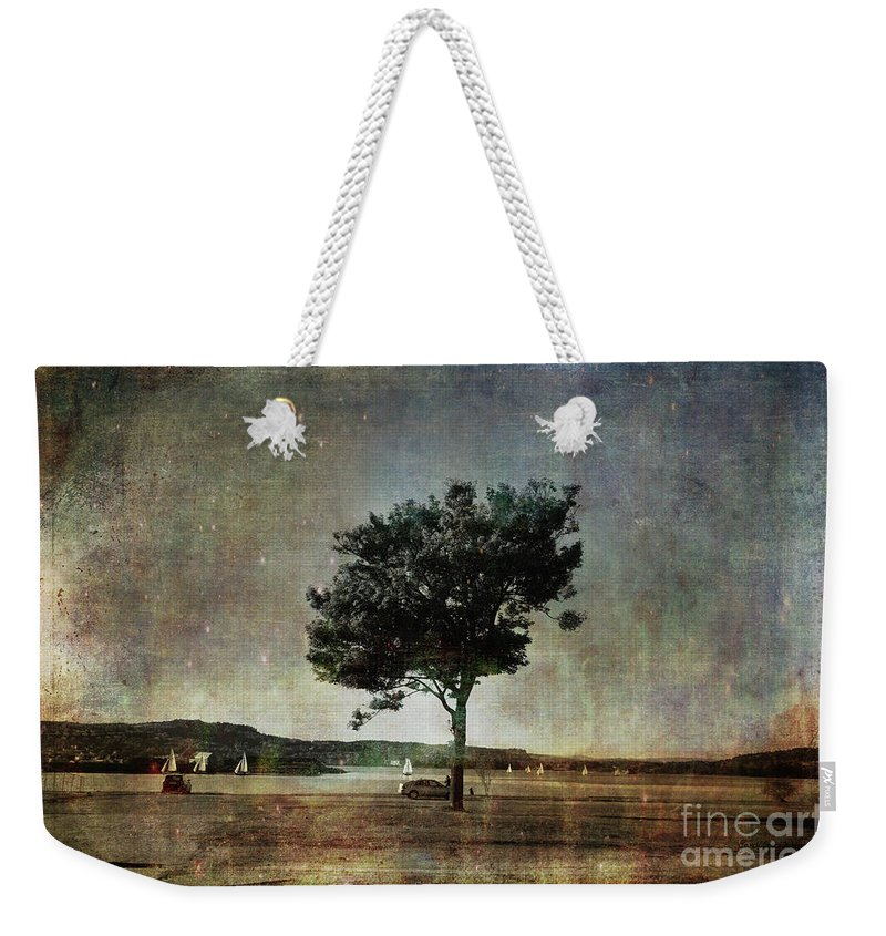 Coast Weekender Tote Bag featuring the photograph Competition by Randi Grace Nilsberg