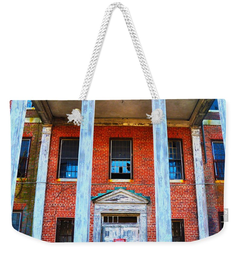 Norristown Weekender Tote Bag featuring the photograph Condemned by Bill Cannon