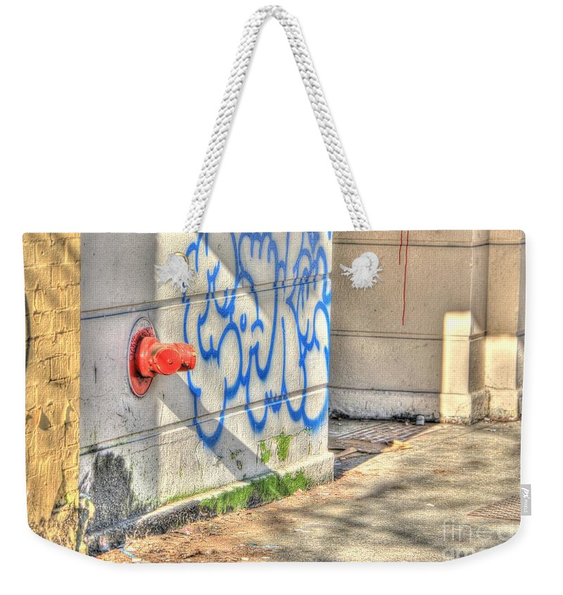 2015 Weekender Tote Bag featuring the photograph Coned by Dorothy Hilde