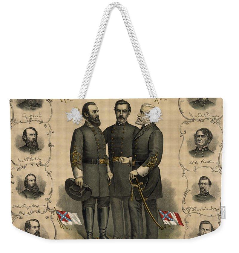 Southern Weekender Tote Bags