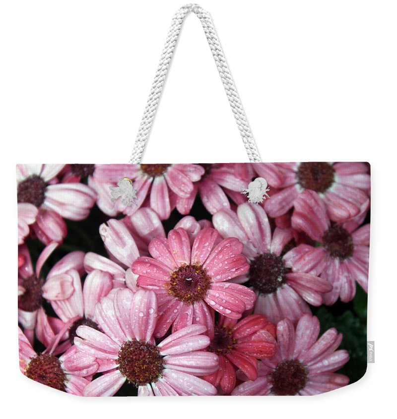 Flower Weekender Tote Bag featuring the photograph Congratulation by Munir Alawi