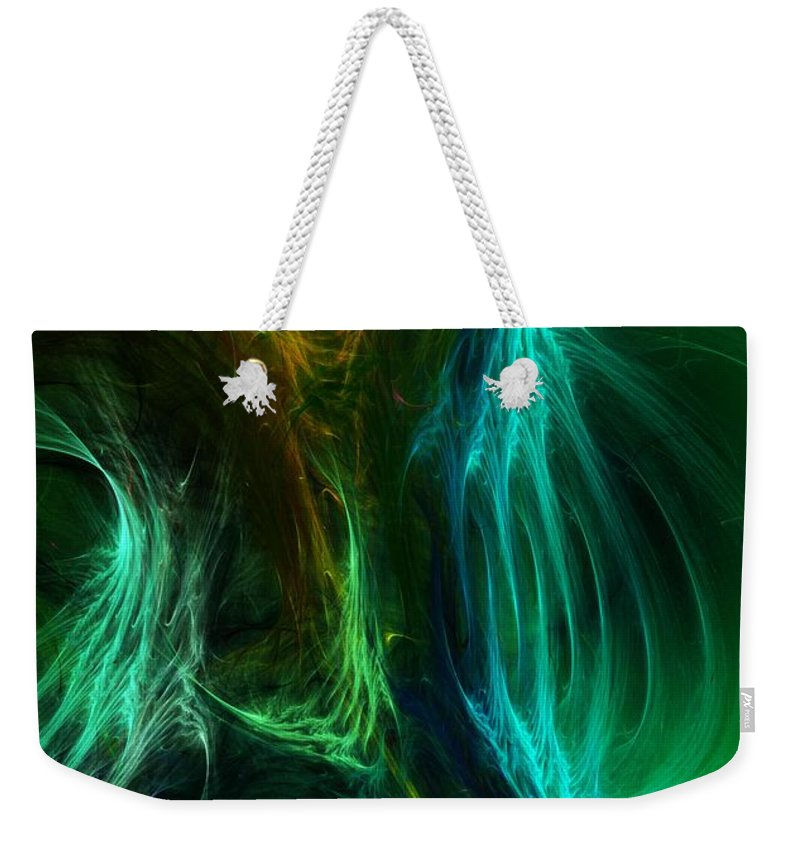 Digital Painting Weekender Tote Bag featuring the digital art Congress by David Lane