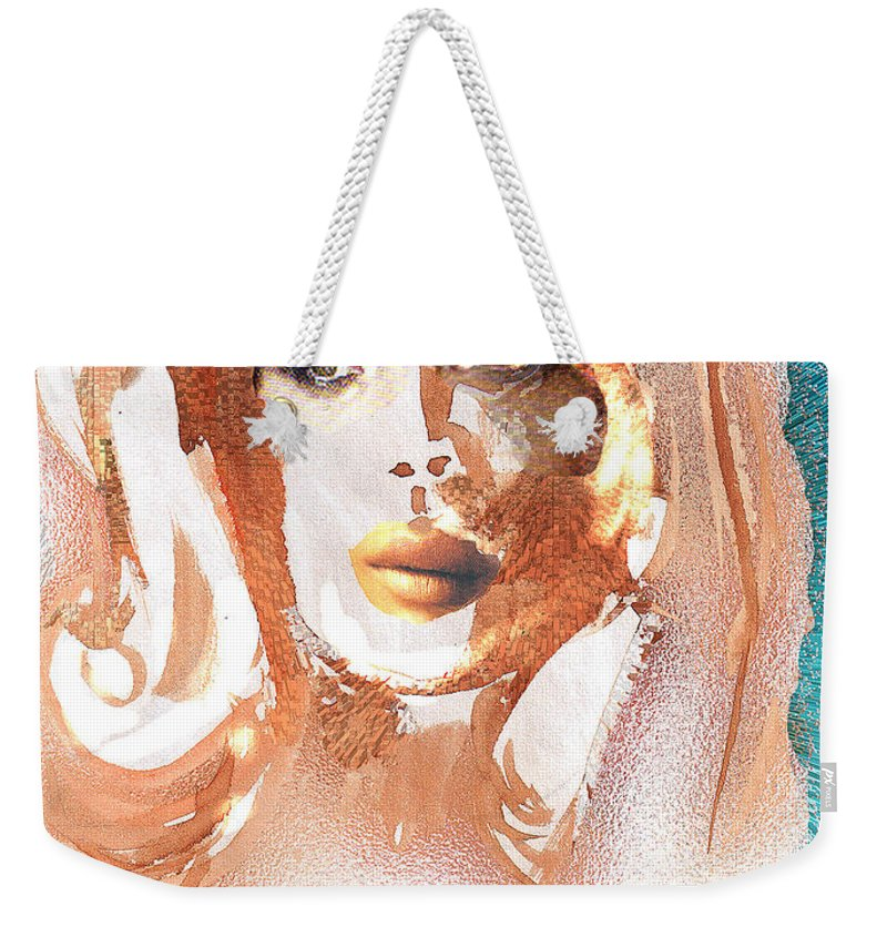 Conjure Weekender Tote Bag featuring the digital art Conjure by Seth Weaver