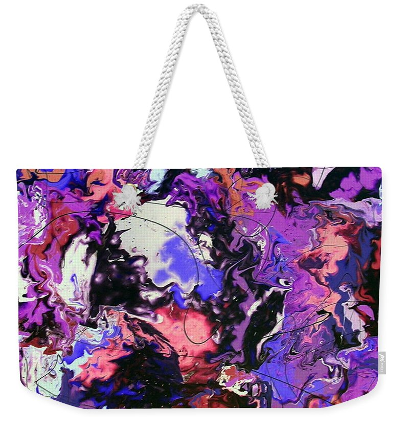 Magic Weekender Tote Bag featuring the painting Conjure The Magic by Dawn Hough Sebaugh