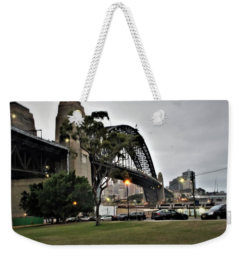 Australian Artist Weekender Tote Bag featuring the photograph Connecting North And South by Giro Tavitian
