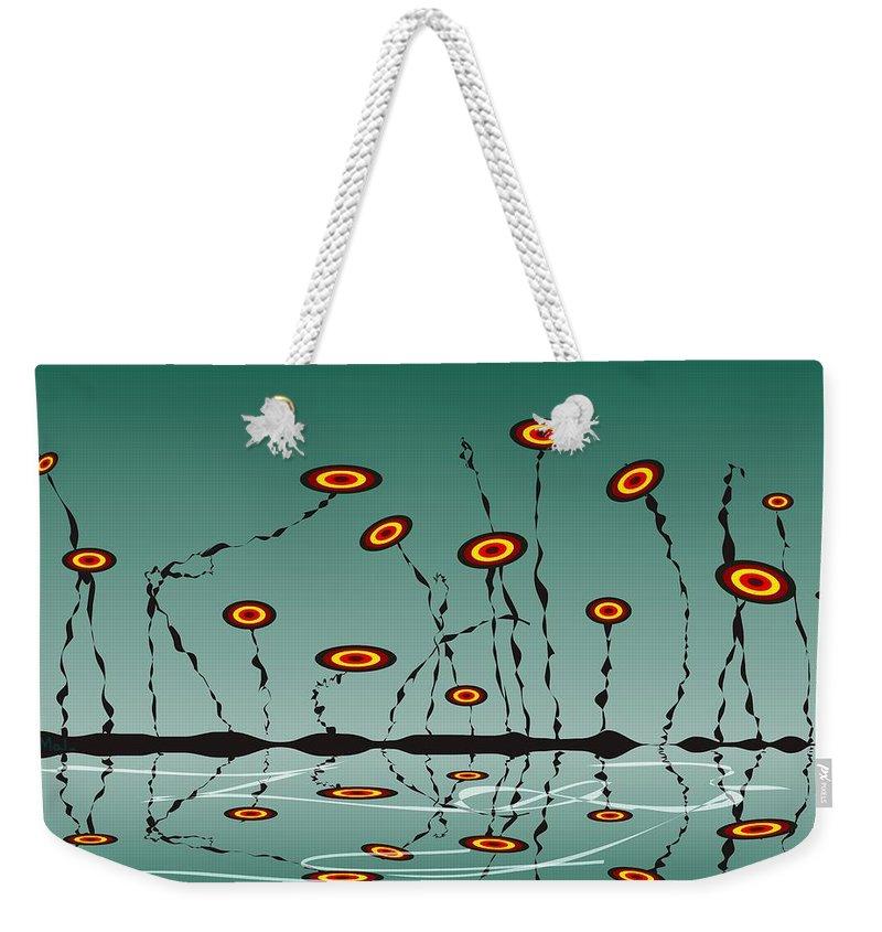 Malakhova Weekender Tote Bag featuring the digital art Constant Vigilance by Anastasiya Malakhova