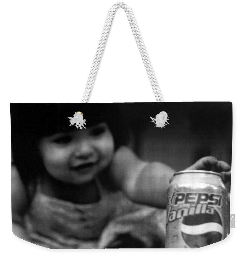 Dark Art Weekender Tote Bag featuring the photograph Consumer by Peter Piatt