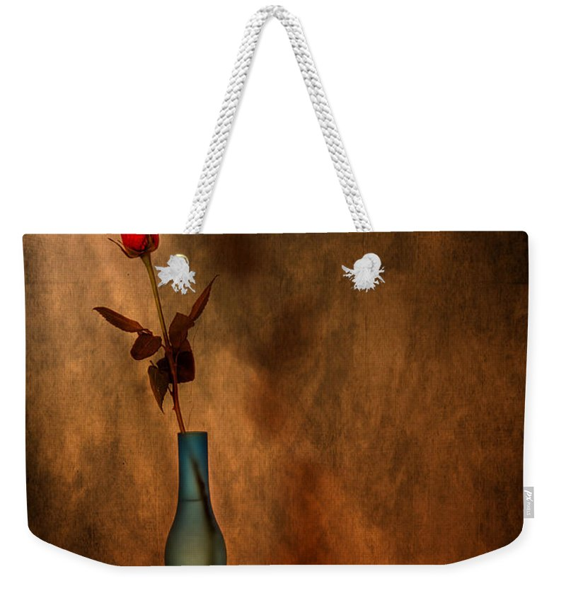 Composition Weekender Tote Bag featuring the photograph Contemplation by Evelina Kremsdorf