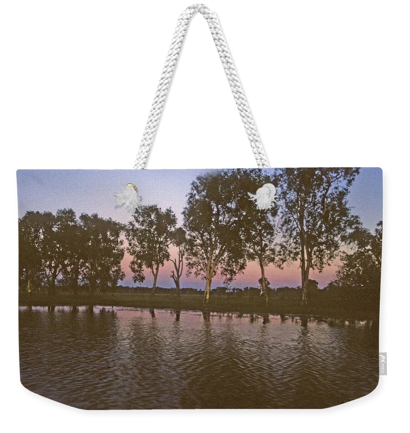 Cooinda Weekender Tote Bag featuring the photograph Cooinda Northern Territory Australia by Gary Wonning