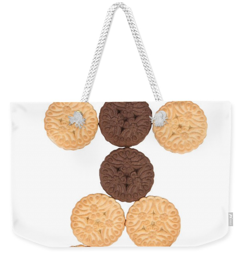 Cookies Weekender Tote Bag featuring the photograph Cookie Man by James BO Insogna