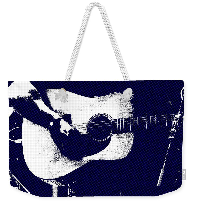 Music Weekender Tote Bag featuring the photograph Cool Blues by Steve Cochran