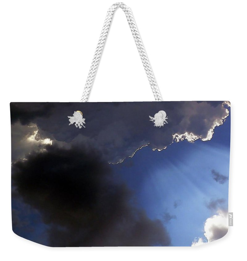 Cloud Weekender Tote Bag featuring the photograph Cool Clouds by Al Powell Photography USA
