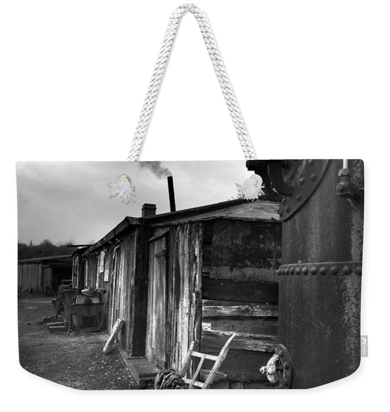 Shack Weekender Tote Bag featuring the photograph Cool Shack by Bob Kemp