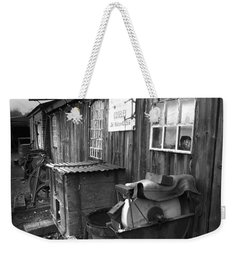 Shack Weekender Tote Bag featuring the photograph Cool Shack Too by Bob Kemp