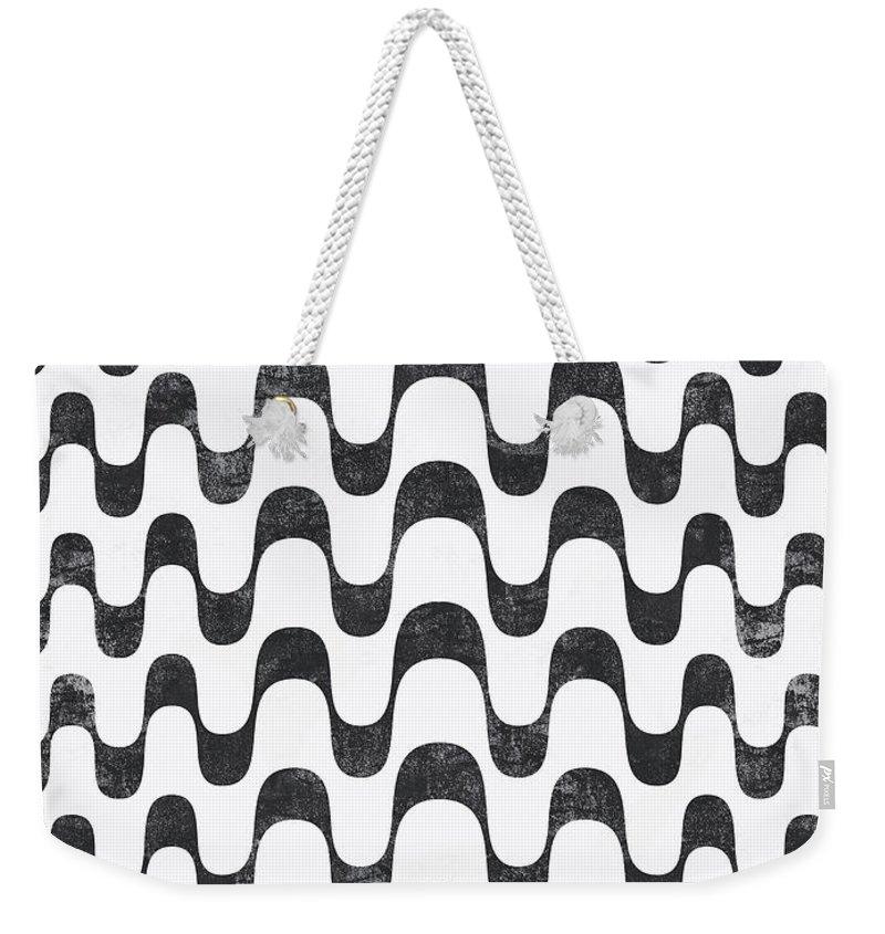 Arte Weekender Tote Bag featuring the digital art Copacabana - Rio by Renato Kolberg