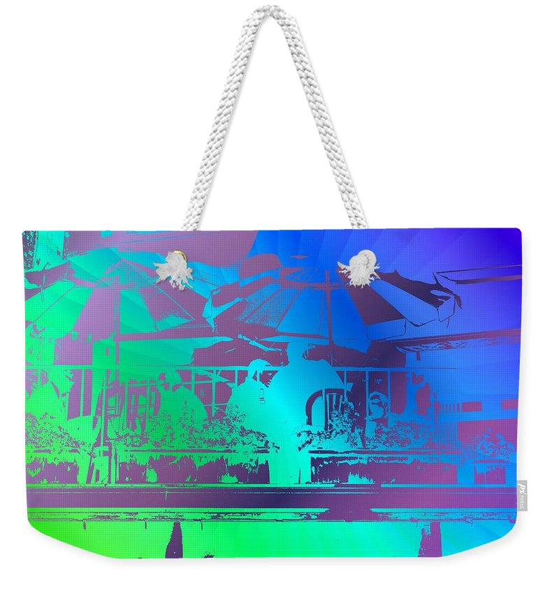 Seattle Weekender Tote Bag featuring the photograph Copacabana by Tim Allen