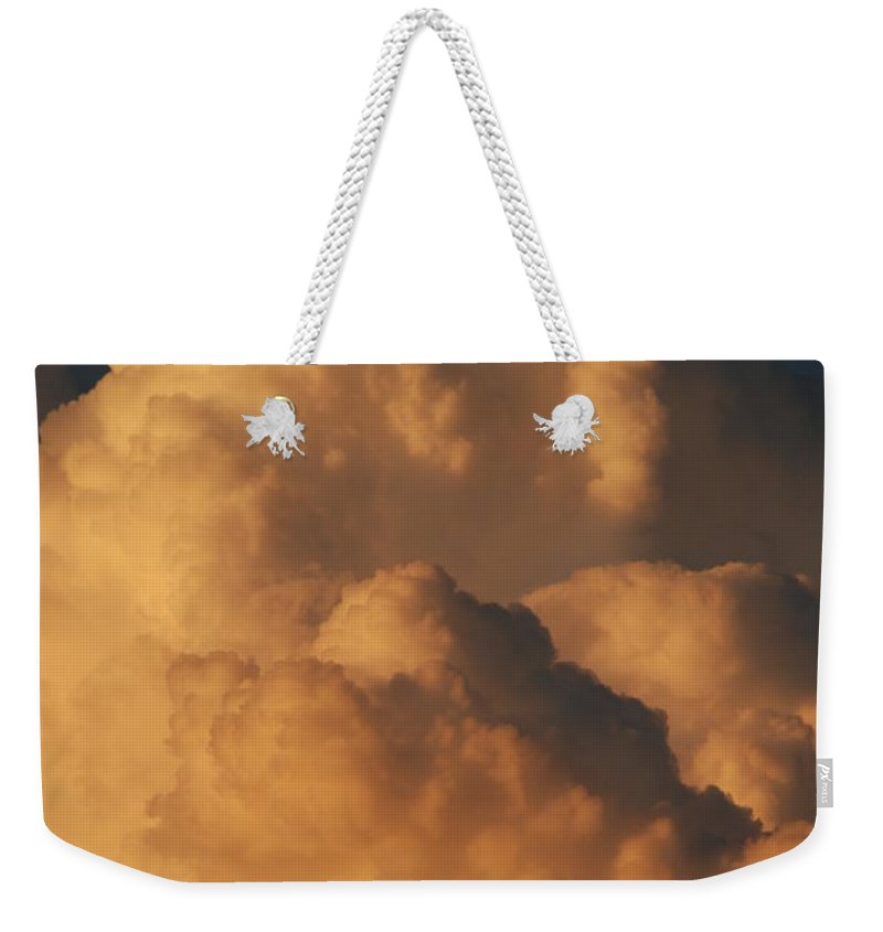 Clouds Weekender Tote Bag featuring the photograph Coppermouth by Rob Hans