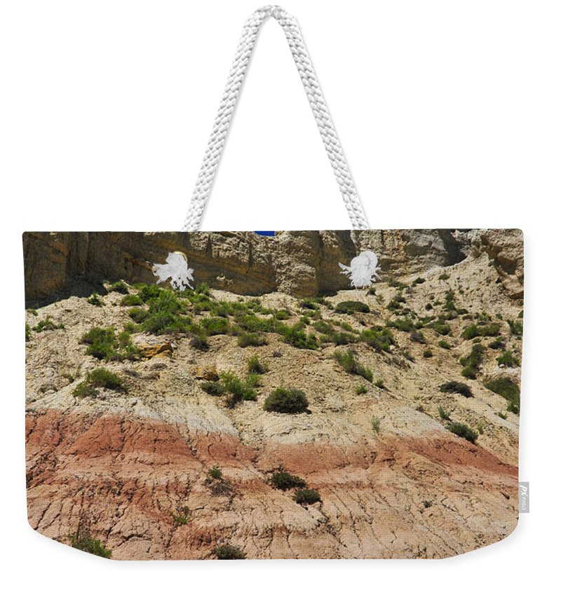Coppertop Weekender Tote Bag featuring the photograph Coppertop by Skip Hunt