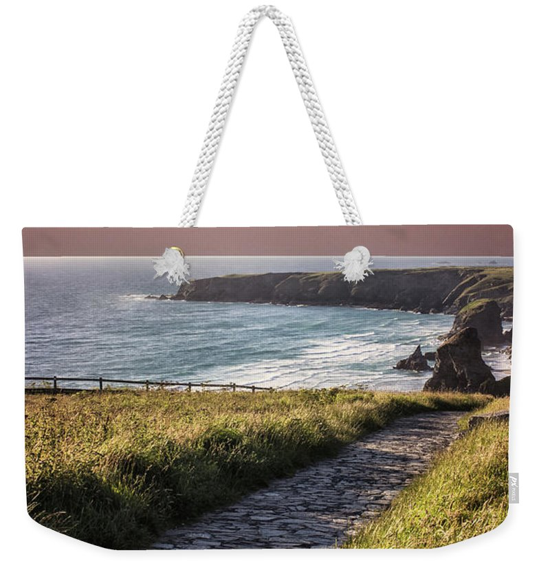Cornwall Weekender Tote Bag featuring the photograph Cornwall by Martin Newman