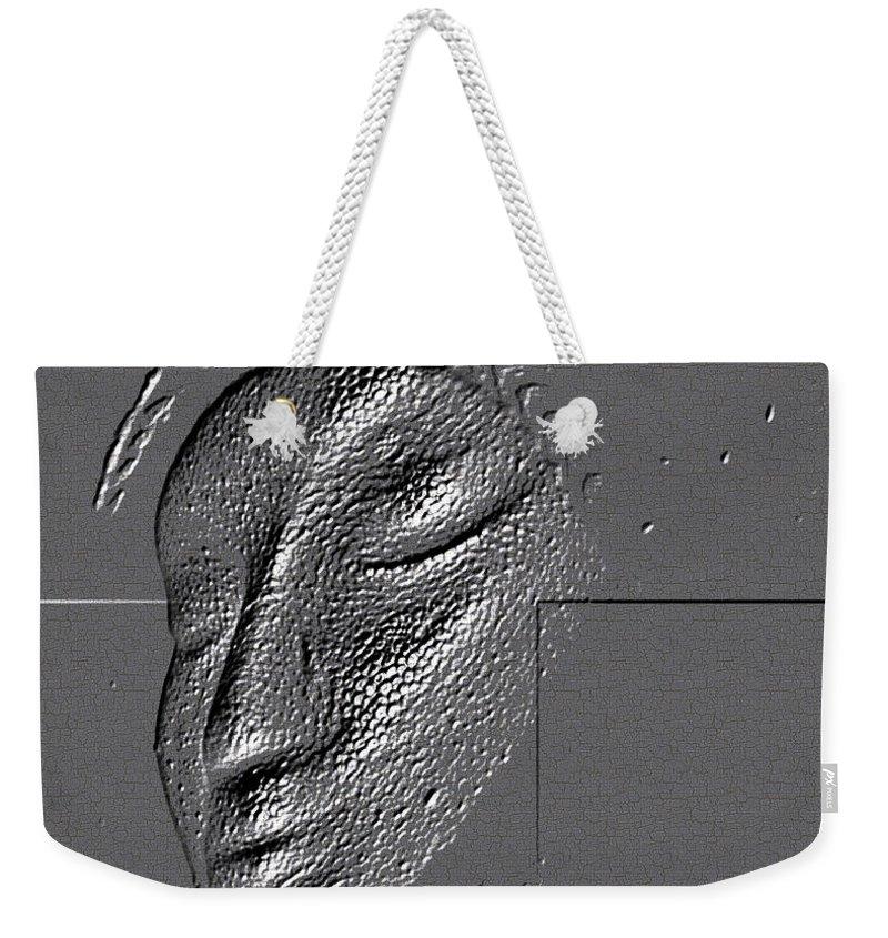 Beautiful Weekender Tote Bag featuring the digital art Coronation by Sandra Gallegos