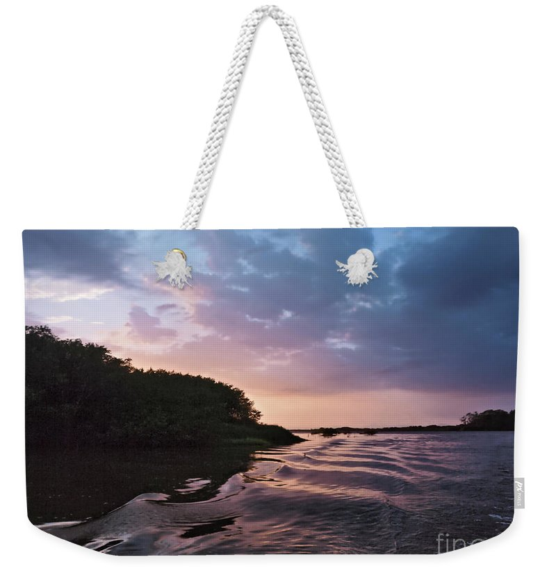Central America Weekender Tote Bag featuring the photograph Costa Rica 051 by Howard Stapleton